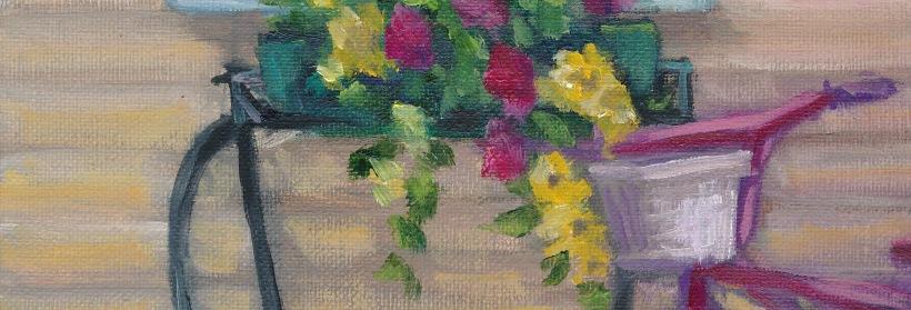 San Souci Flower box