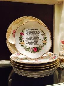 My grandmothers plates