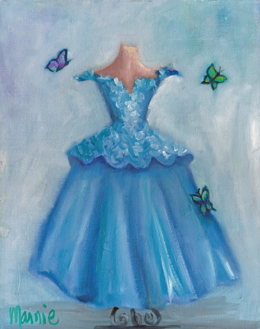 butterfly dress-sm