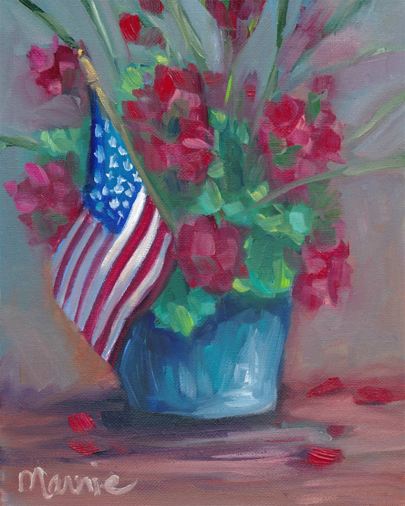 Patriotic flowers-sm