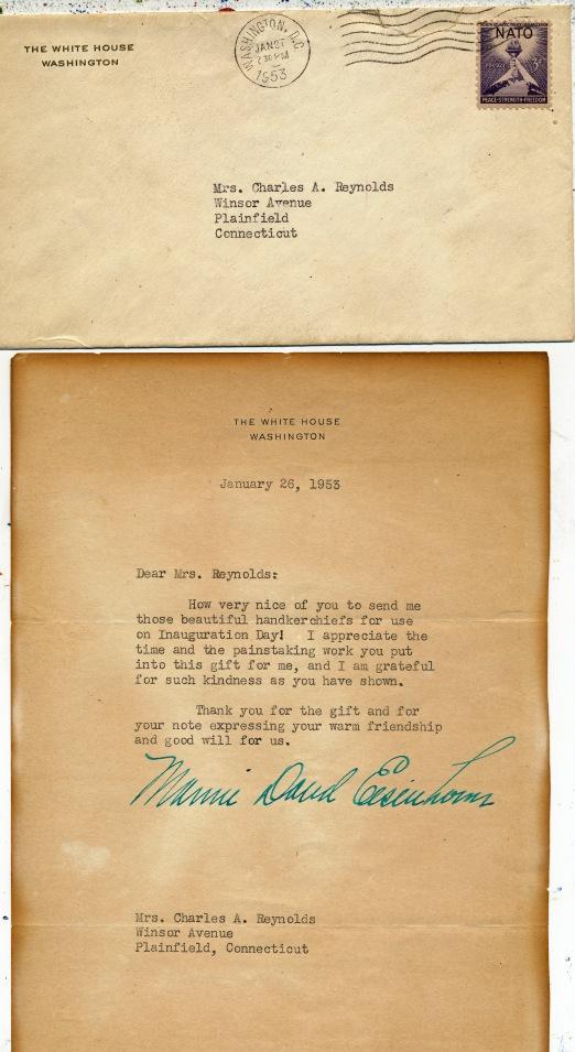 whitehouse letter