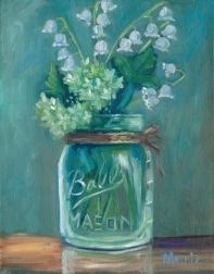 Jar of lilies of the valley-sm