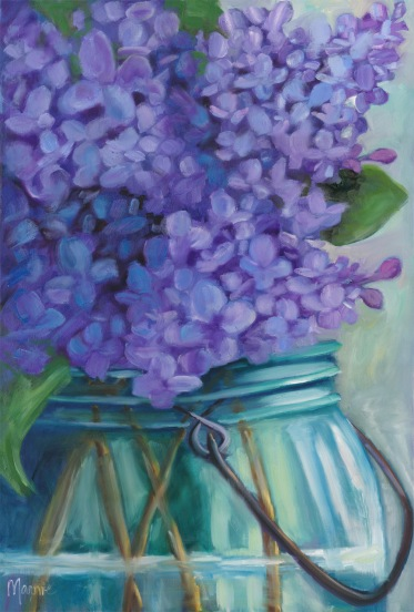 take time to smell the lilacs-sm